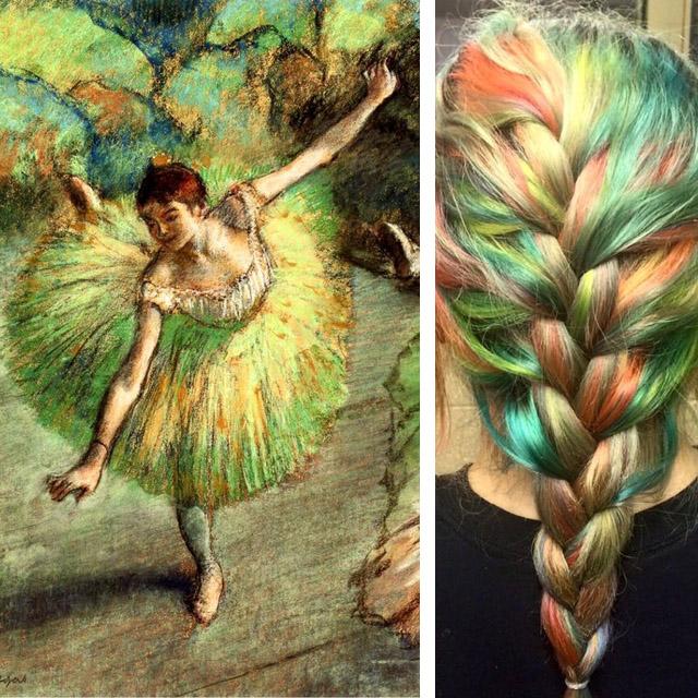 Эксперименты Урсулы Гофф: красота на волосах