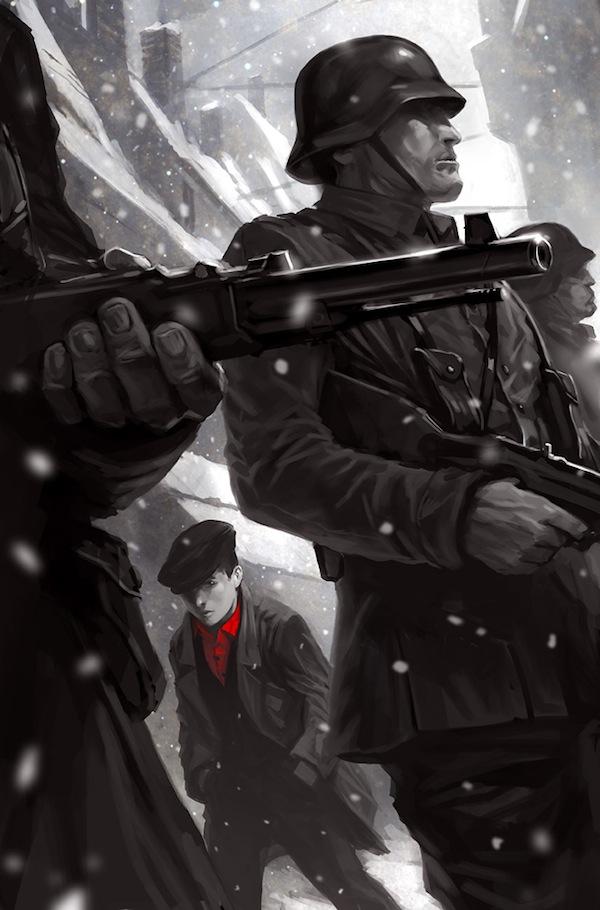 Comic Illustrations - Marko Djurdjevic