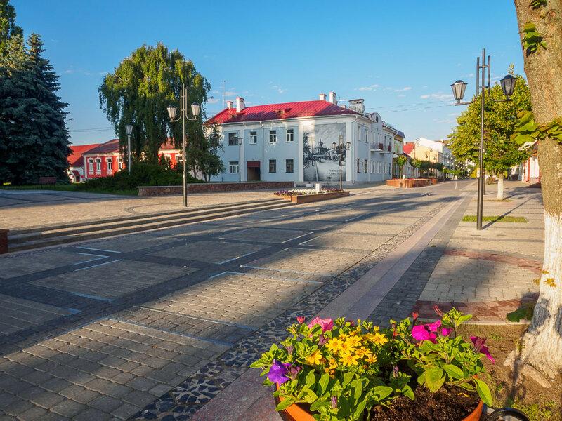 На улице Ленина.