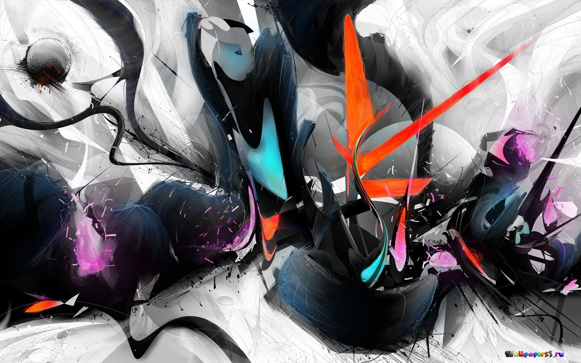 абстракция краски без смс