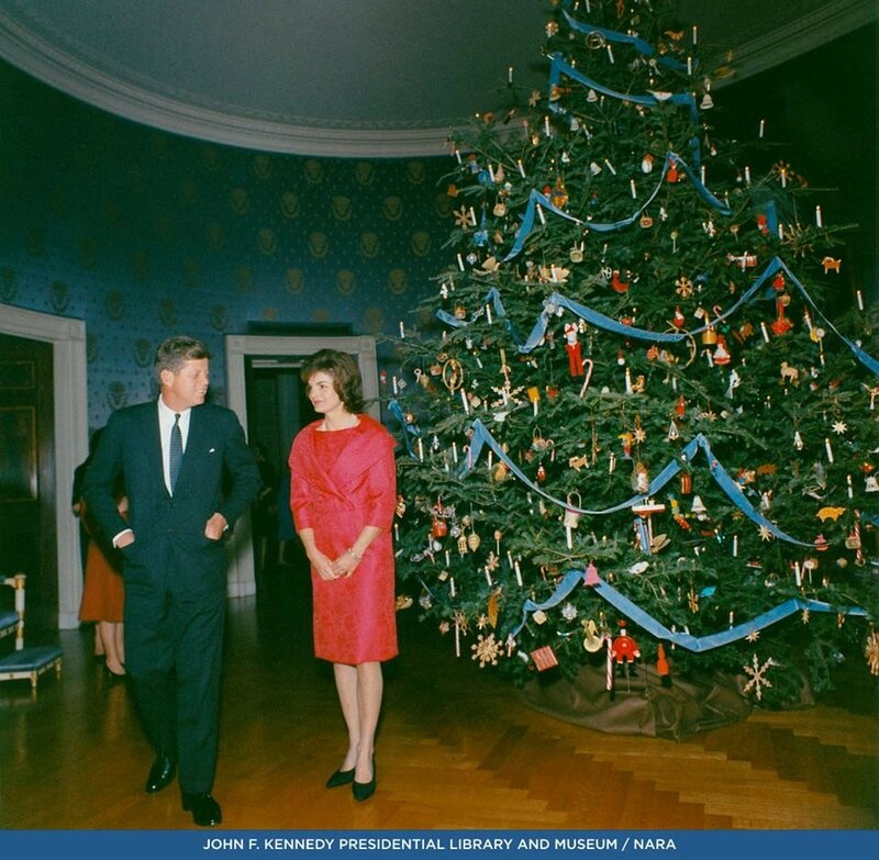 Рождественская елка в Белом Доме.