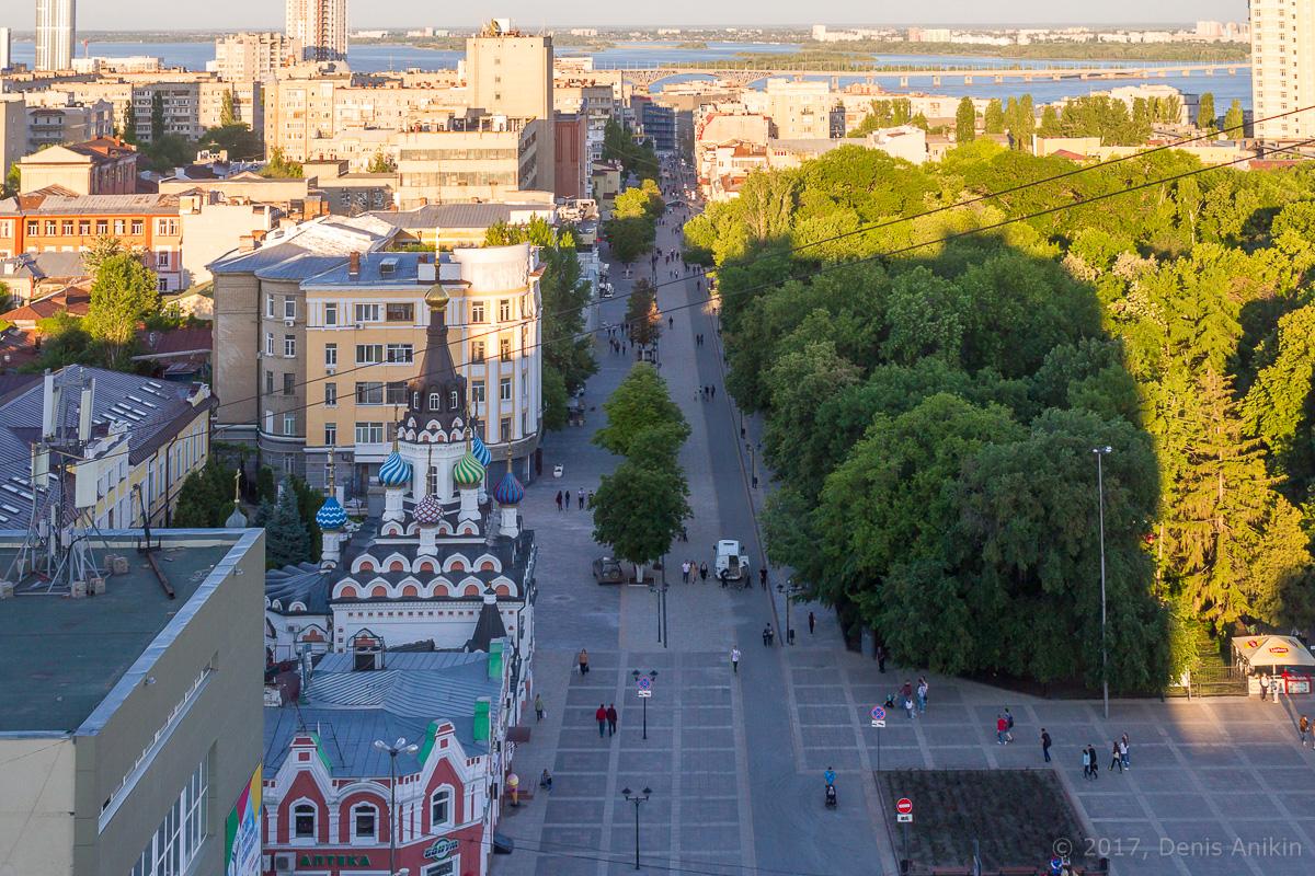 Улица Волжская с высоты фото 2