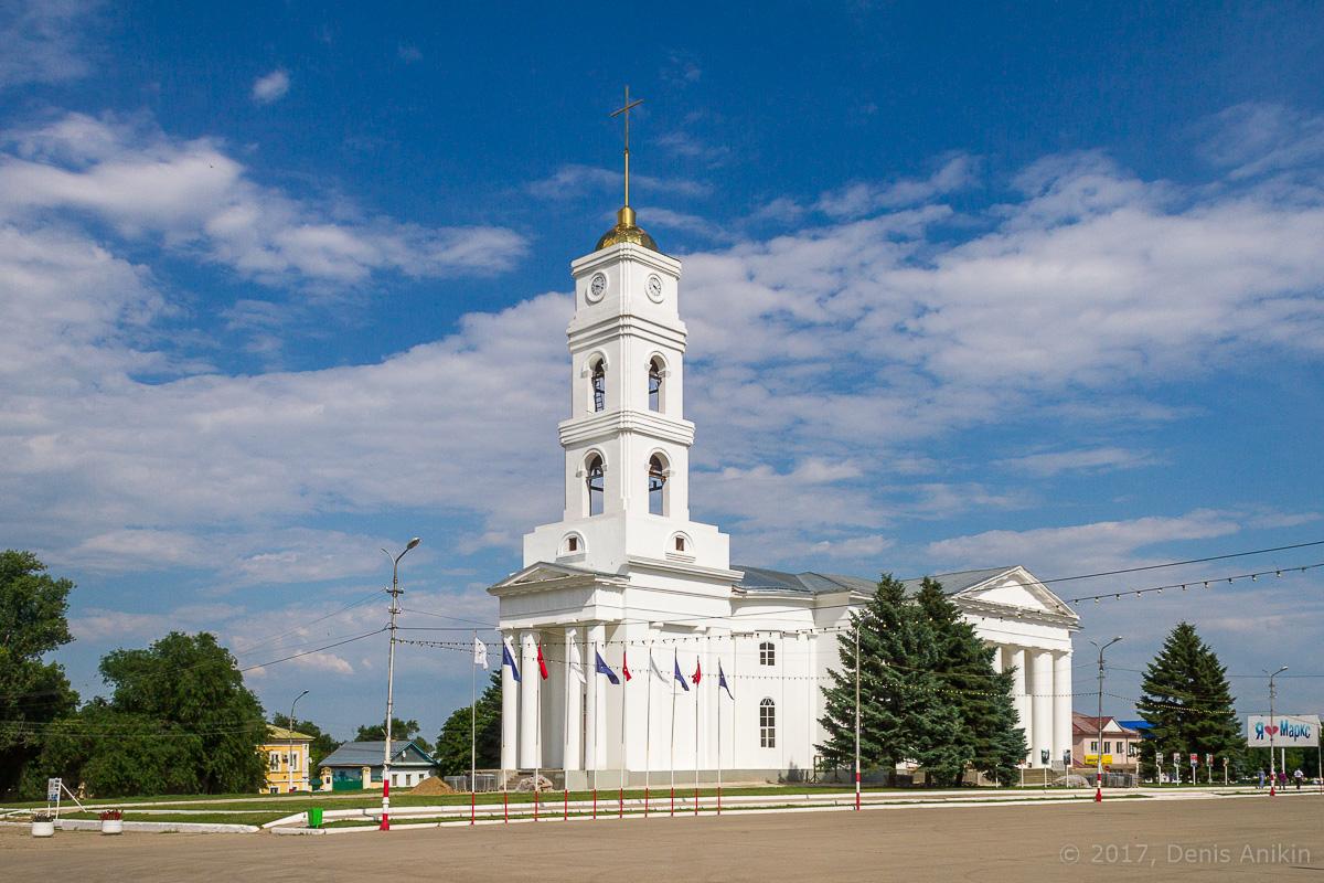 Церковь в Марксе фото 1