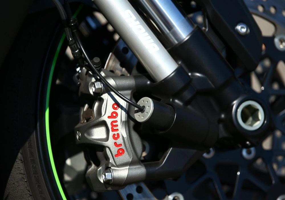EICMA 2017: спортбайк Kawasaki Ninja ZX-10R SE 2018