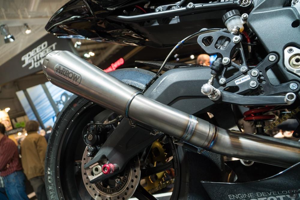 EICMA 2017: гоночный прототип Triumph Daytona Moto2