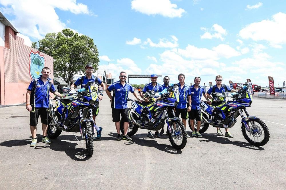 Мотоциклы ралли Дакар 2018