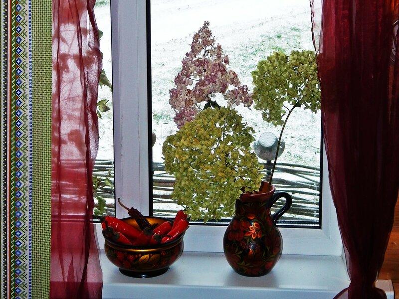 А за окном зима пришла