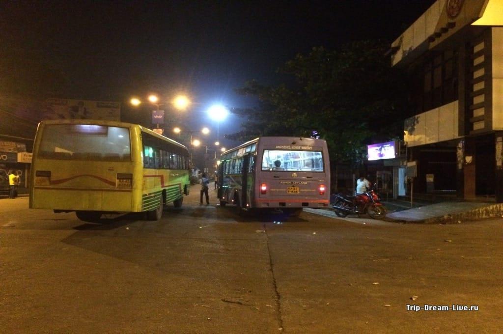 Автобусная станция в Карваре