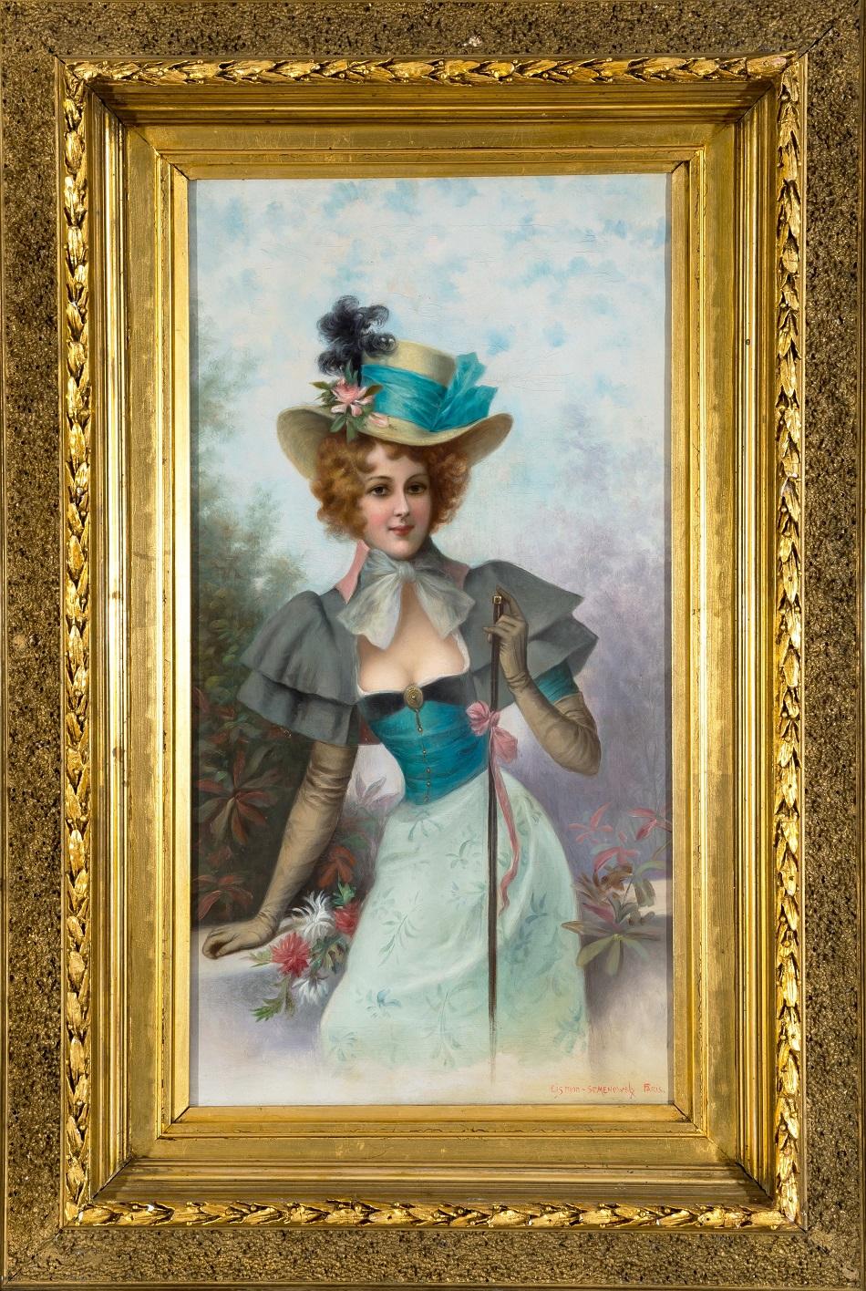 EMILE EISMAN-SEMENOWSKY (POLISH-FRENCH 1857-1911)The Dandizette.jpg