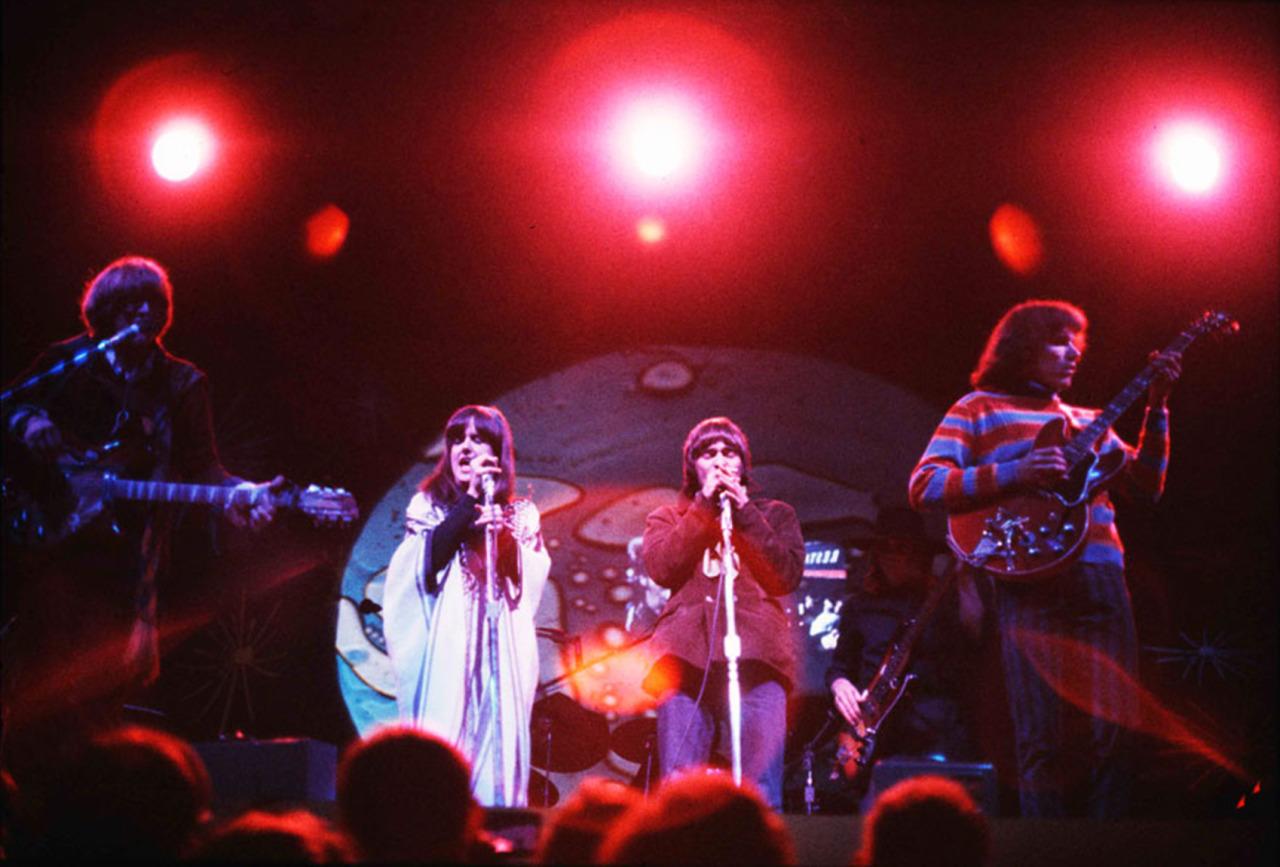 «Jefferson Airplane» на сцене