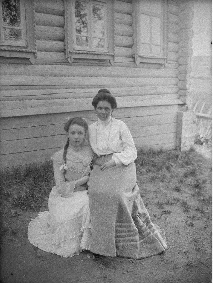 Портрет двух женщин