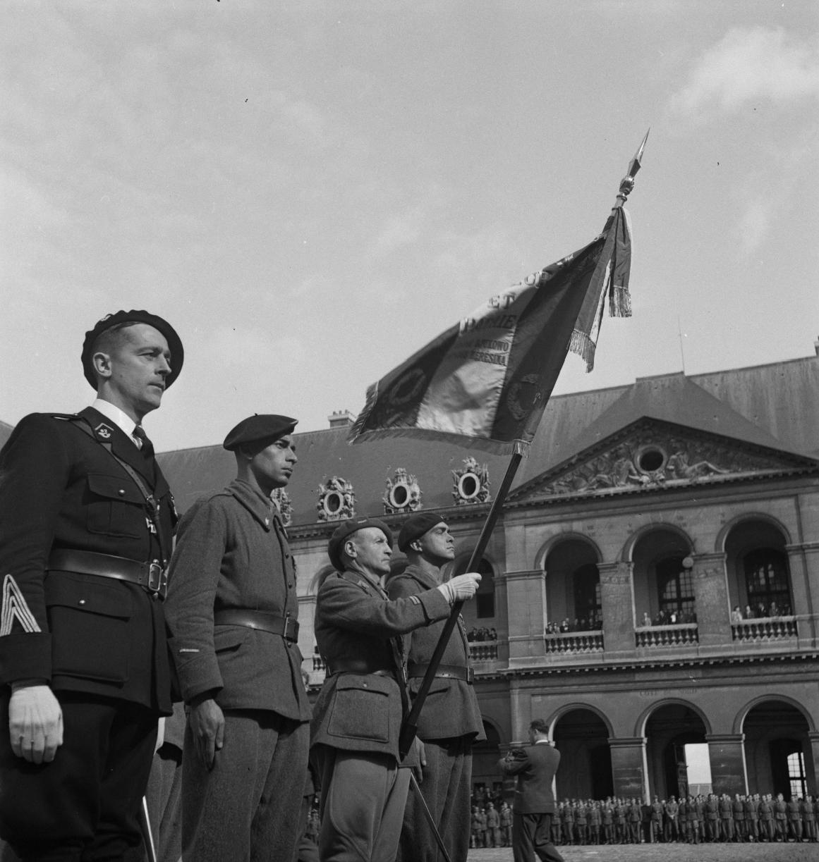19. Флаг и его почетный караул