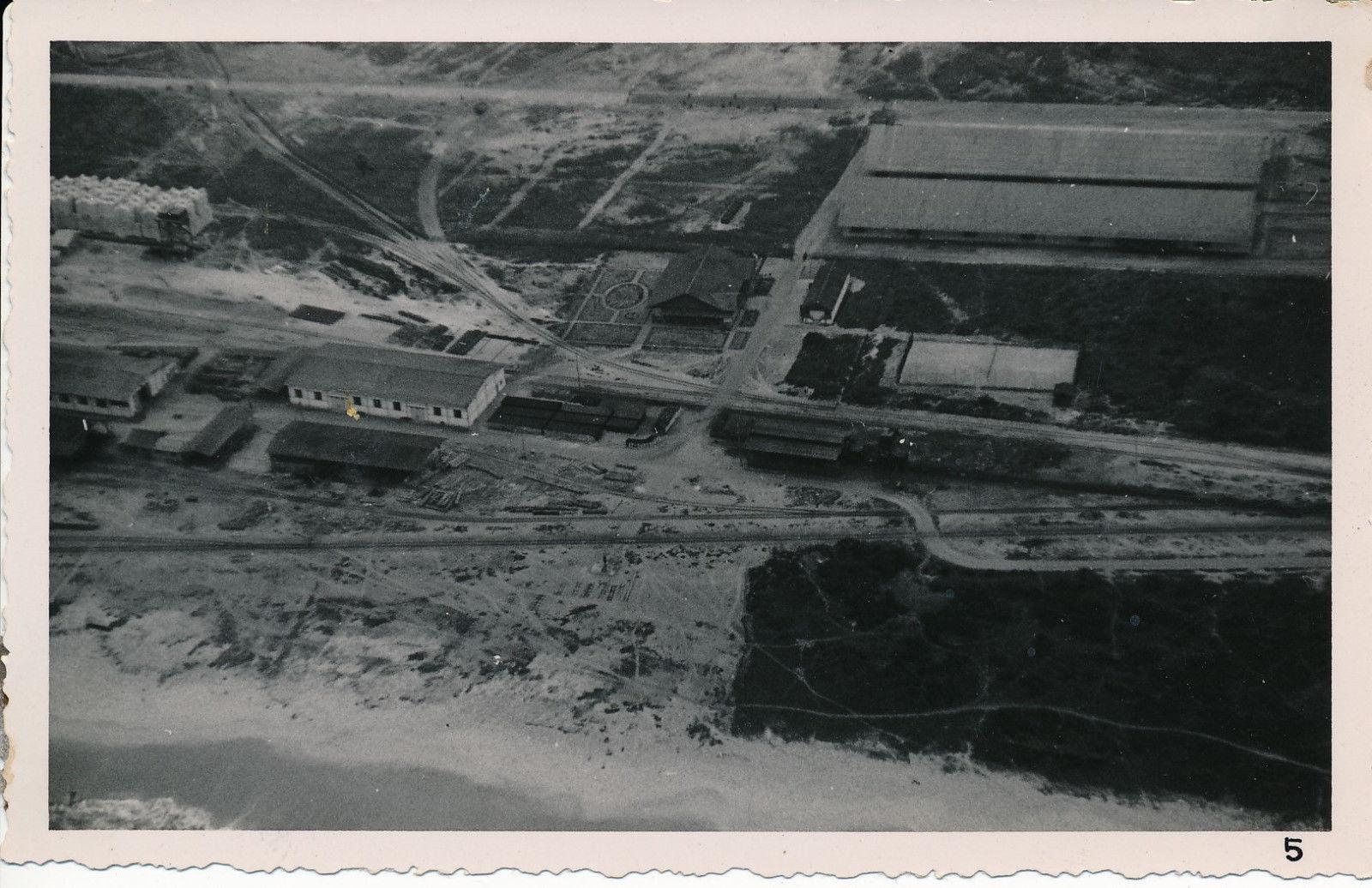 1937. Вид с воздуха на строительство