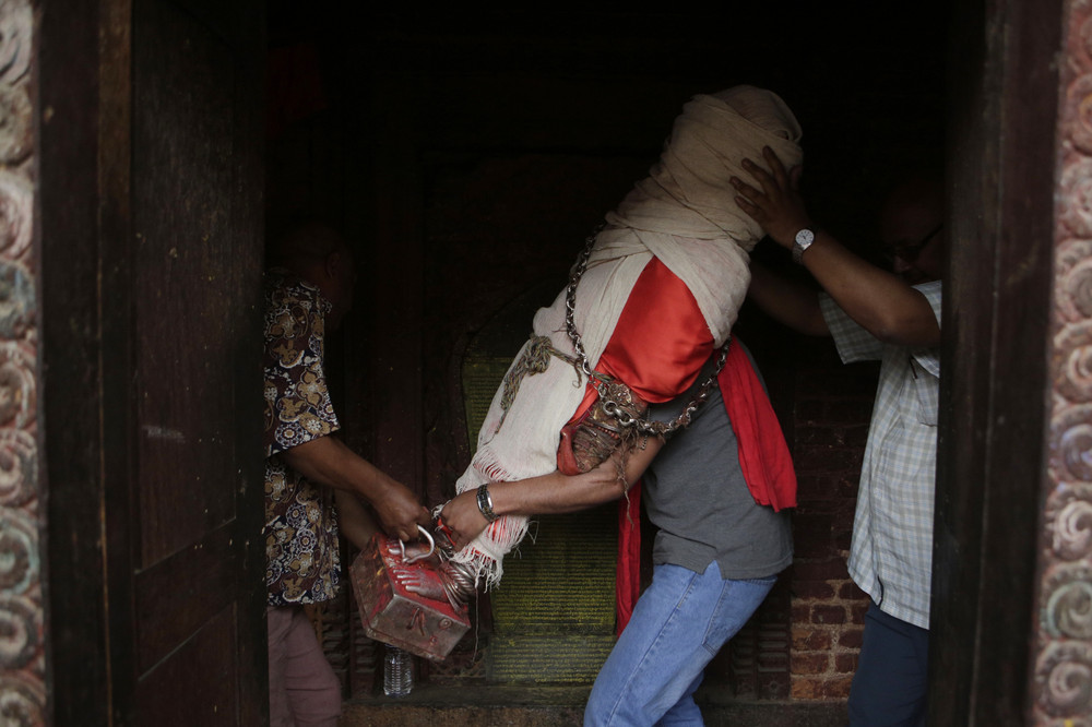 Интересные снимки из Непала