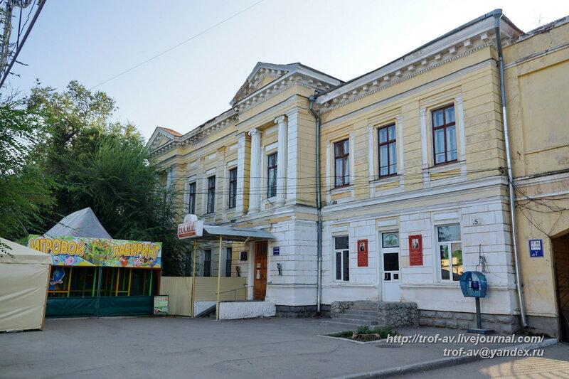 Корпус санатория Восход, Феодосия