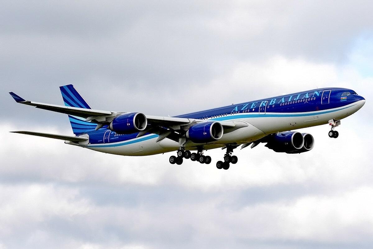 Airbus A340-542. AZAL Azerbaijan Airlines. 4K-AZ85.