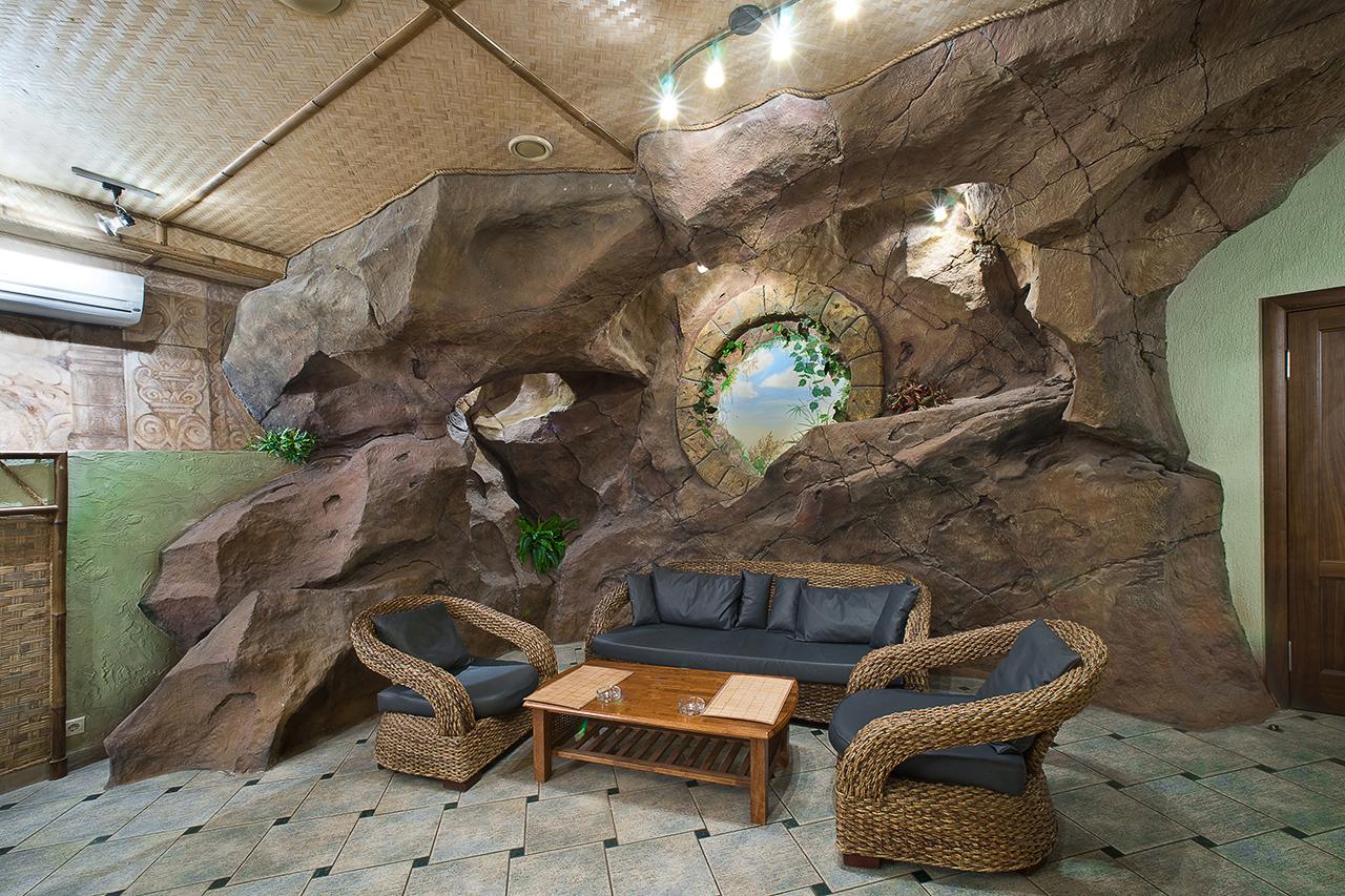 фотосъемка искусственного камня в интерьере