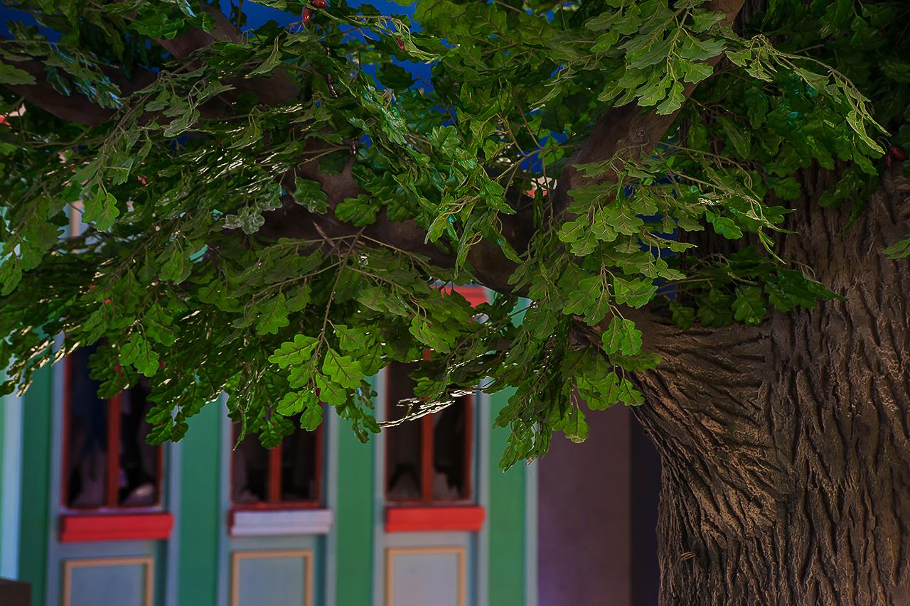 фотосъемка деревьев из искусственного камня. фотограф Толль