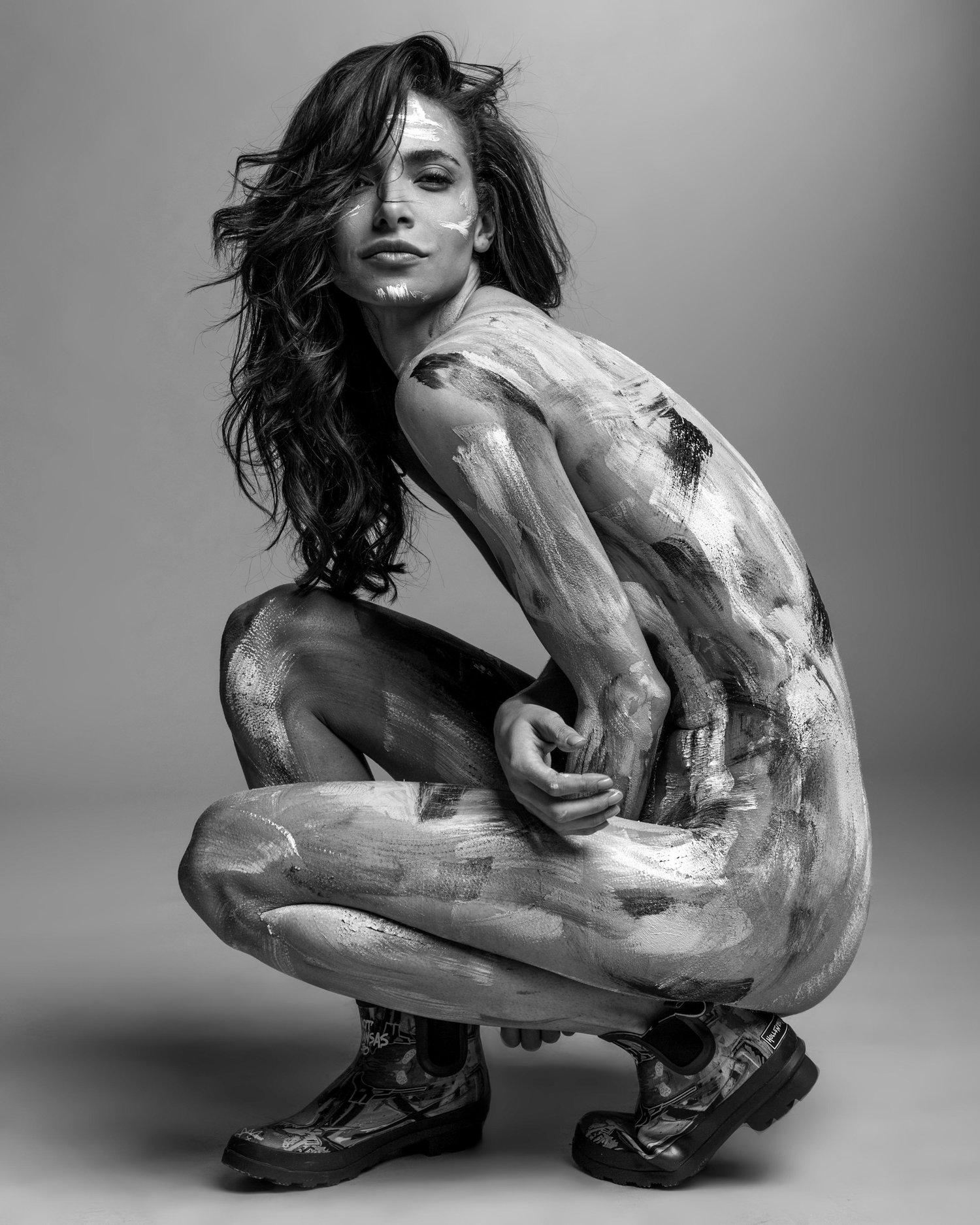 Paint me - Jordan Rand & Laura Peterson / фото Philippe Regard