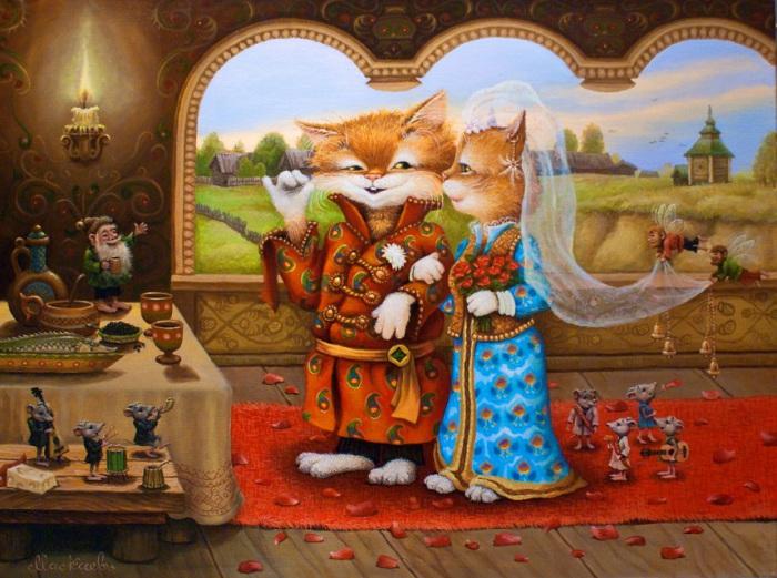 Картины Александра Маскаева
