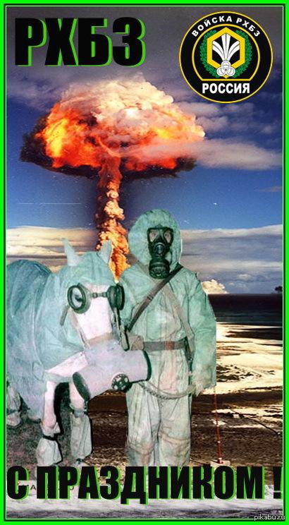 С праздником. День войск радиационной, химической и биологической защиты!