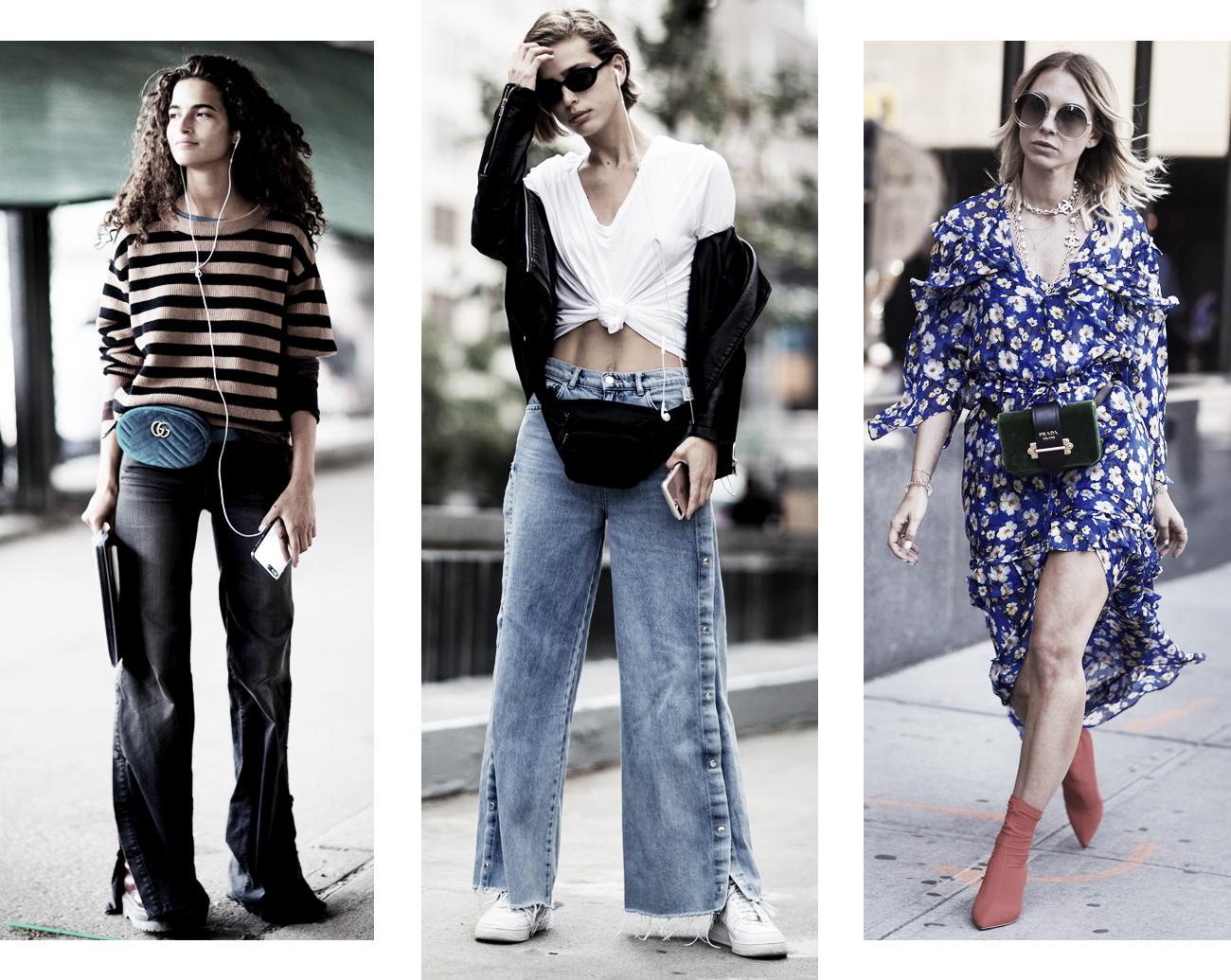 DISTRICT F - NEW YORK STREET STYLE SS18 belt bag trend
