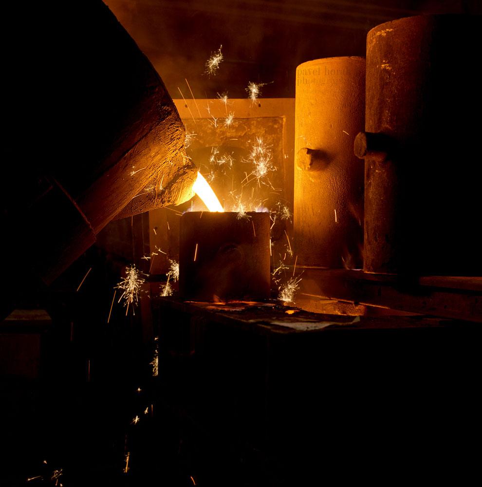 Еще больше горячего, жидкого металла можно увидеть в статье « Добро пожаловать в «ад »!
