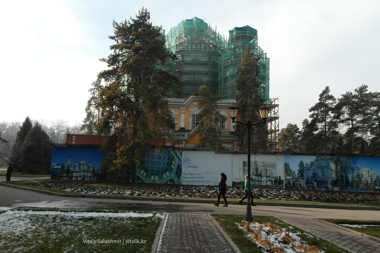 Ремонт Воскресенского собора, 2017.