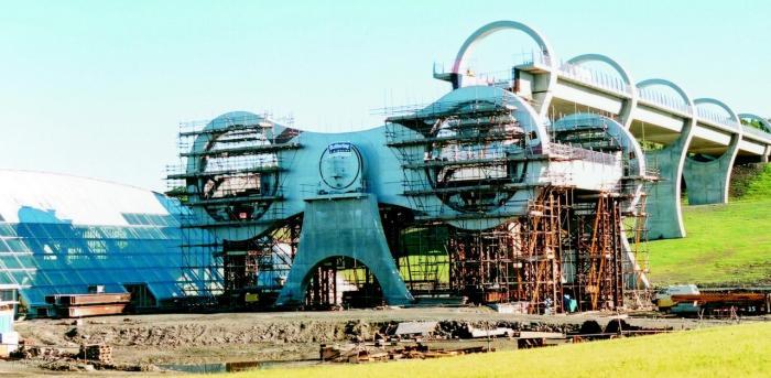 Одно из самых необычных сооружений мира – колесо Фалкирк
