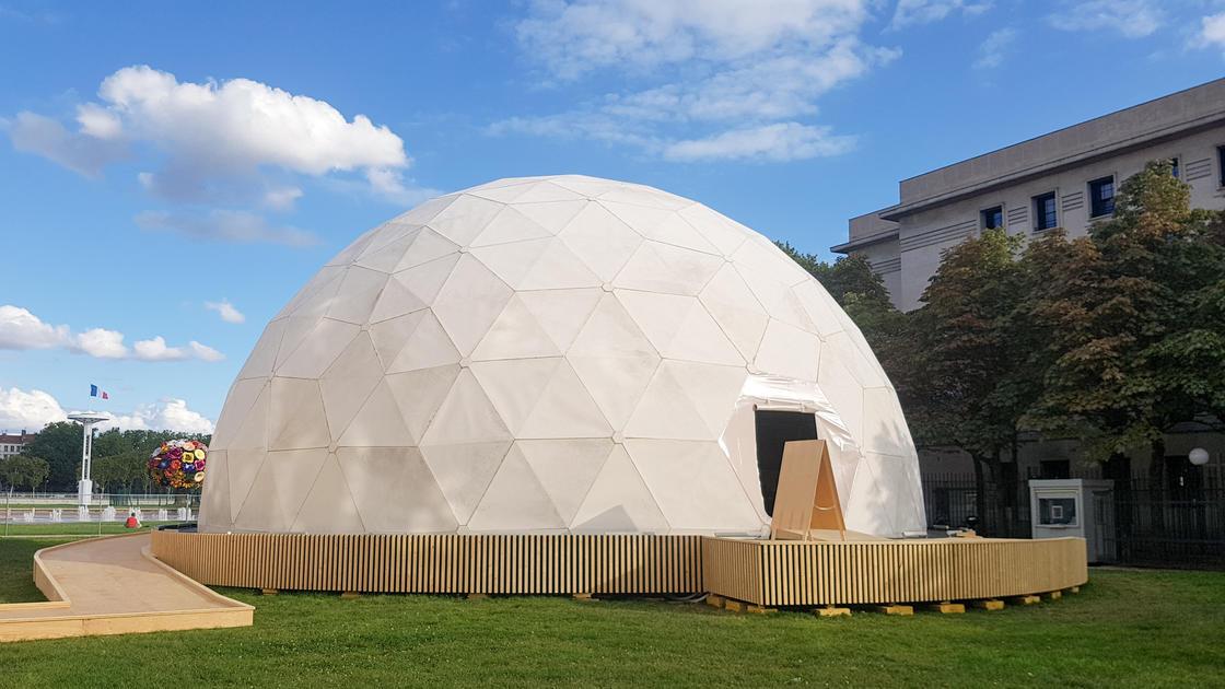Radome - Buckminster-Fuller (place Antonin Poncet)