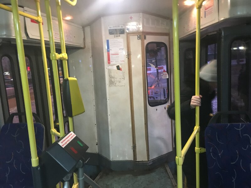 Трамвай Татра с дверьми с двух сторон