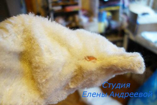 антикварный мишка