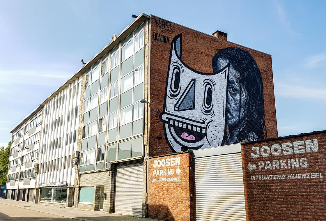 Street Art Trip in Belgium – Part 2 : Discovering street art in Antwerp (49 pics)