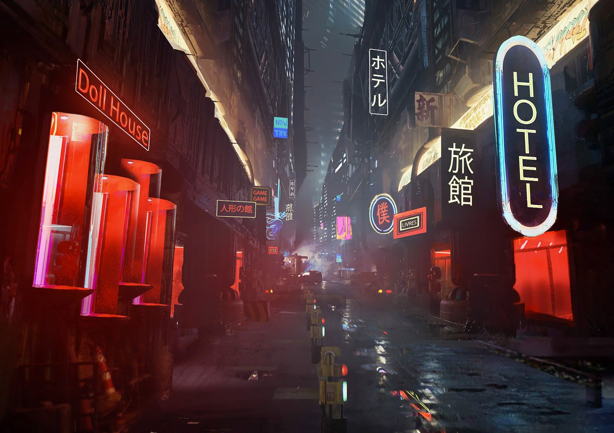 Amazing Conceptual Blade Runner Illustrations