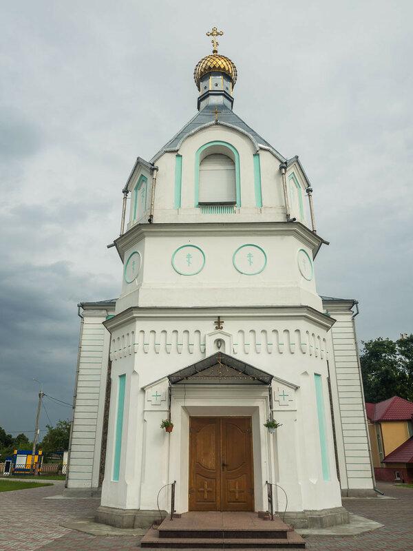 и ещё одна церковь.