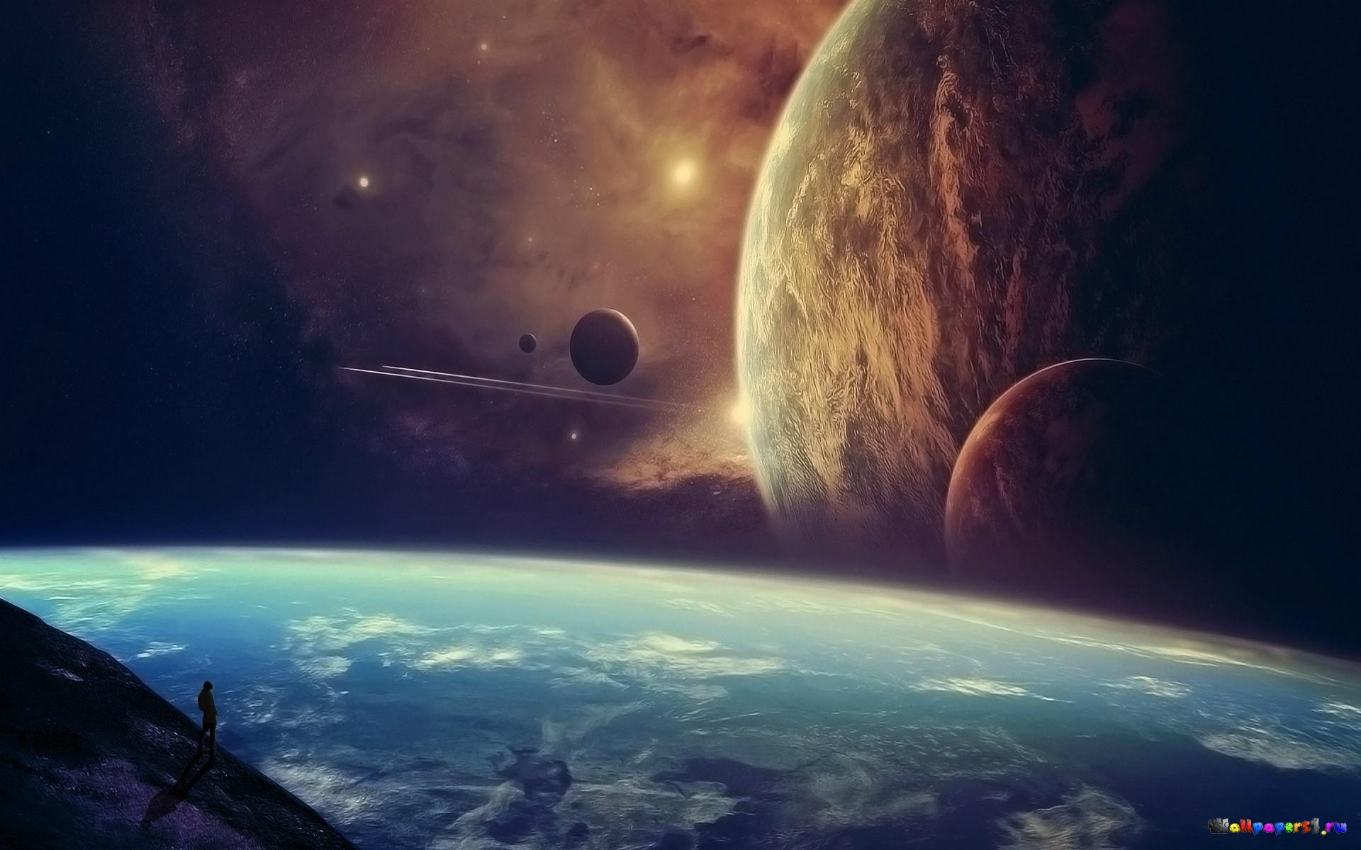 Обои космос вселенная планета картинки на рабочий стол на тему Космос - скачать  № 1955832 загрузить