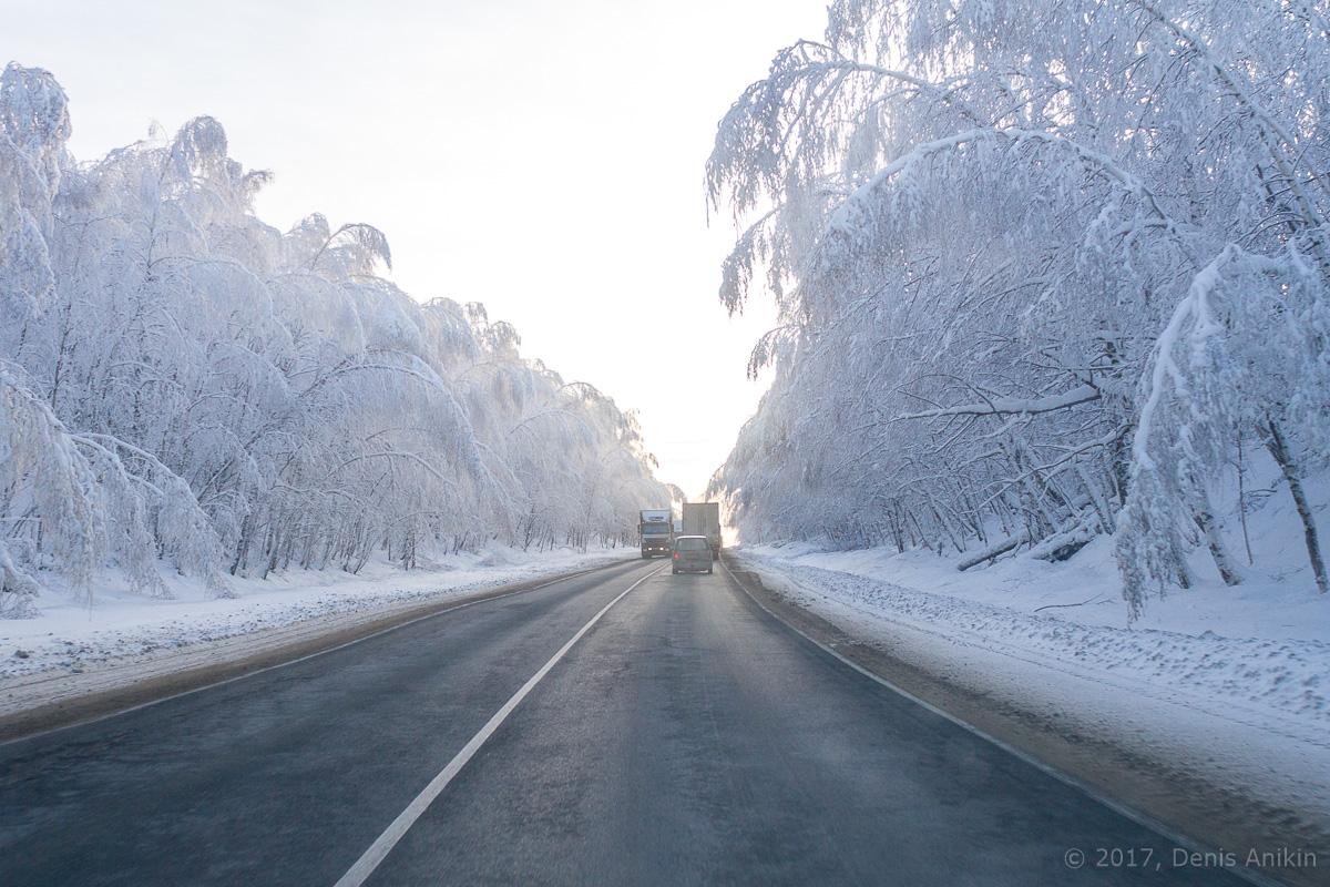 дорога зима хвалынск фото 1