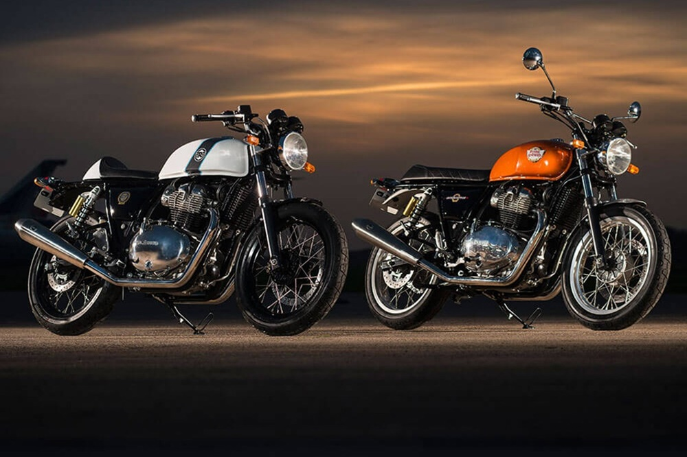 EICMA 2017: мотоциклы Royal Enfield Interceptor INT650 2018 и Royal Enfield Continental GT650 2018