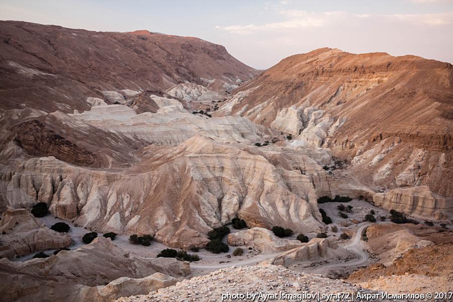 Дорога Мертвое море - Арад. Горные пейзажи