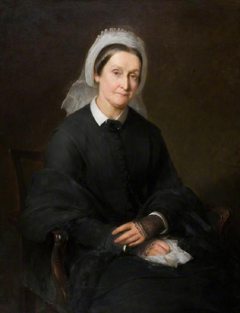 Mrs Molison, nee Elizabeth Baxter (1801-1888), Wife of Francis Molison