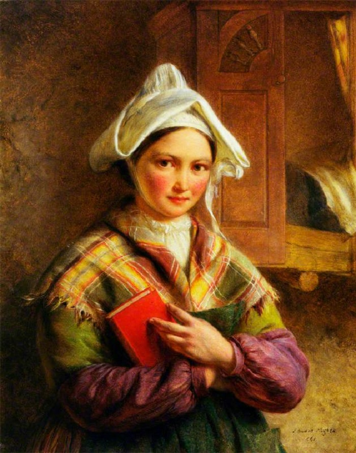 Peasant Woman of Brittany