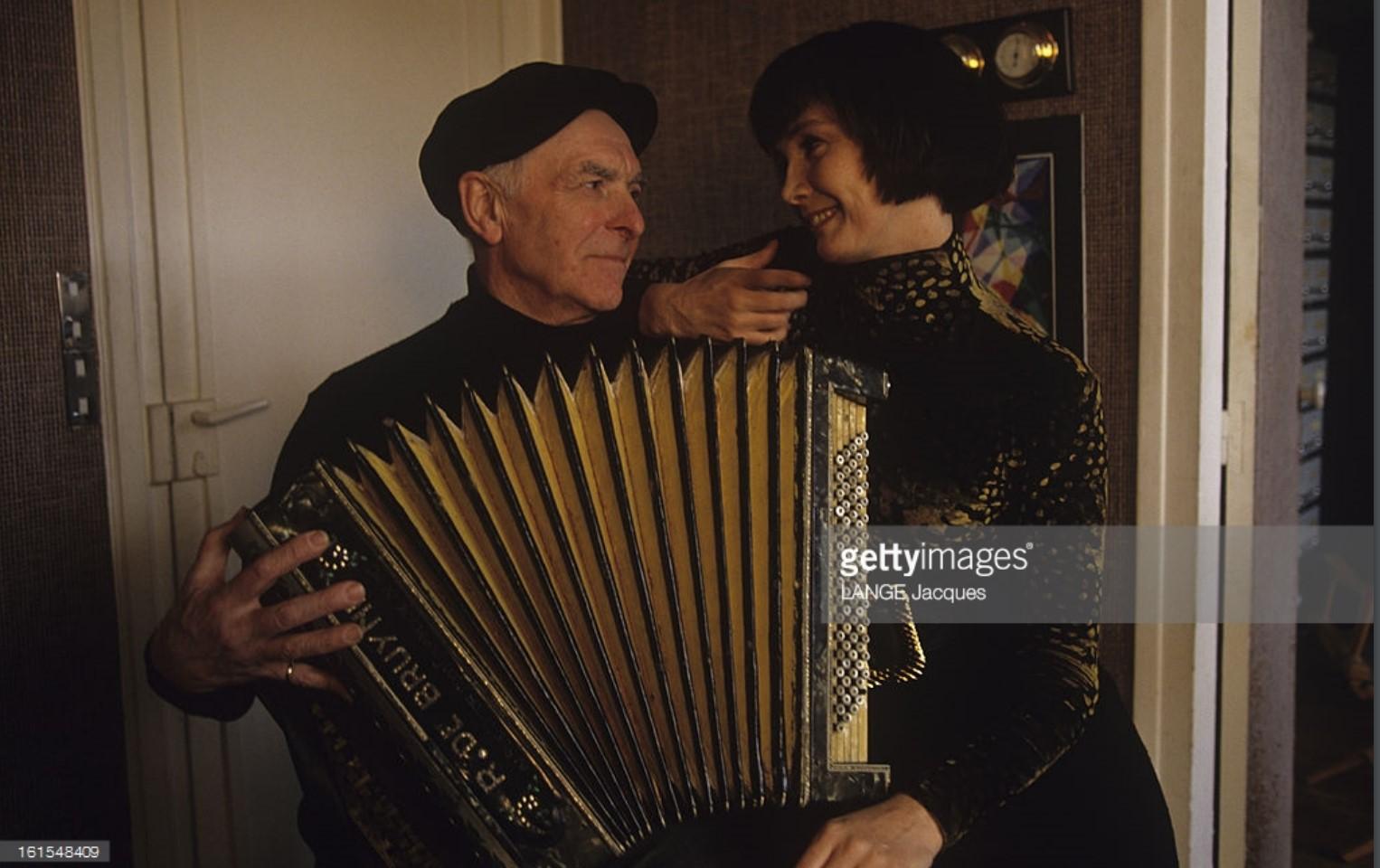 1985. Сабина Азема и Робер Дуано в Монруже