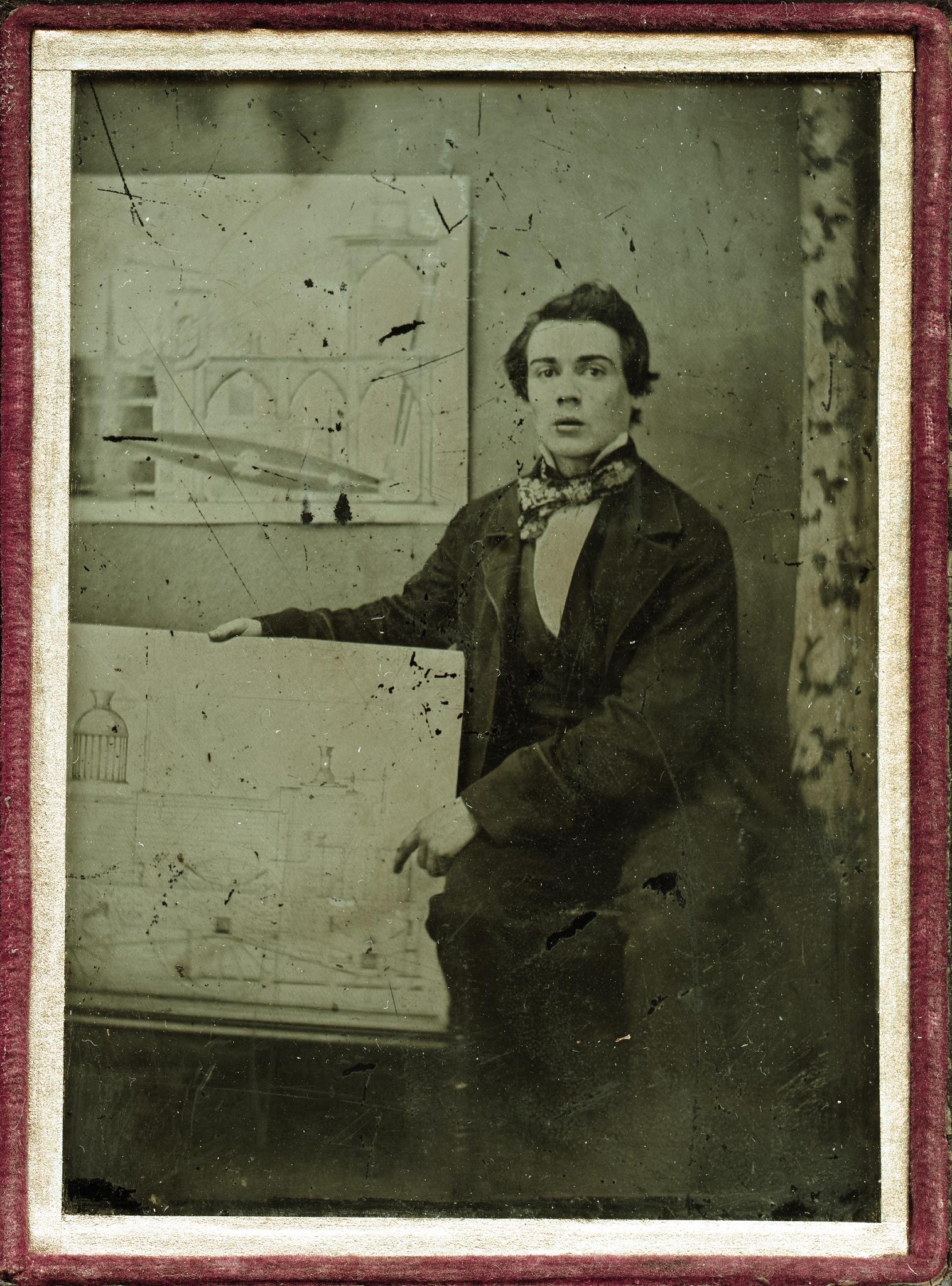 1855. Молодой английский инженер