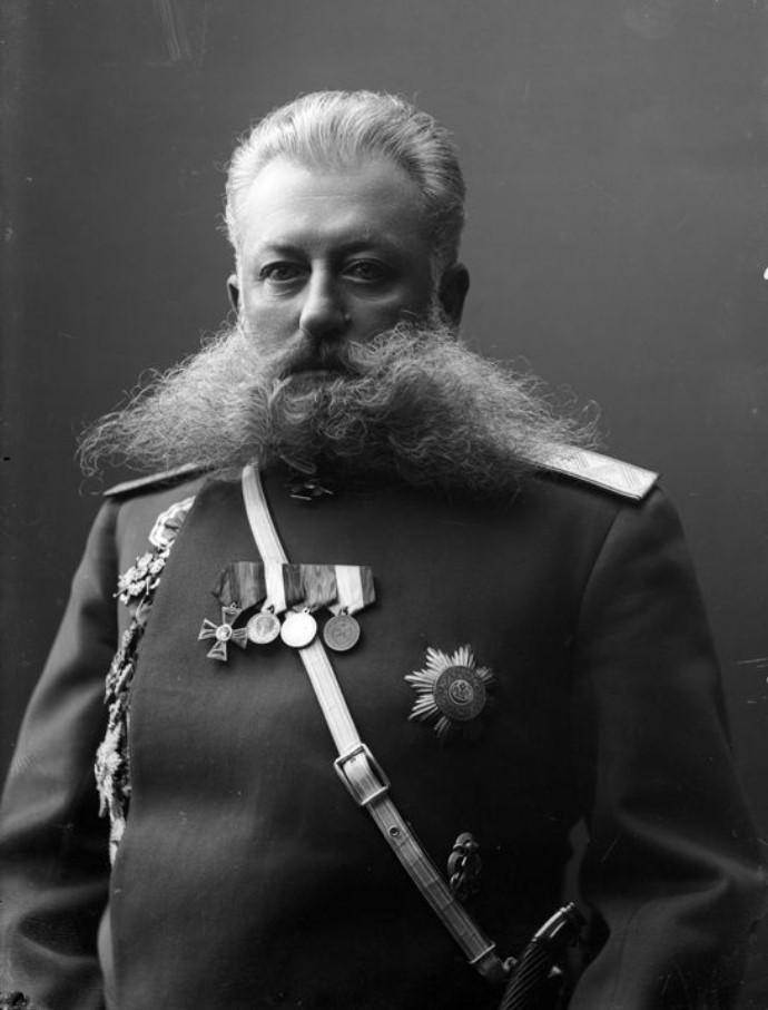 1913. Полицмейстер К.А. Яковлев