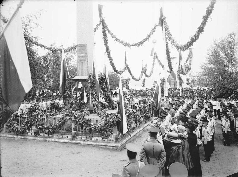 1915. Мининский сад. Торжество в память К. Минина и Д. Пожарского
