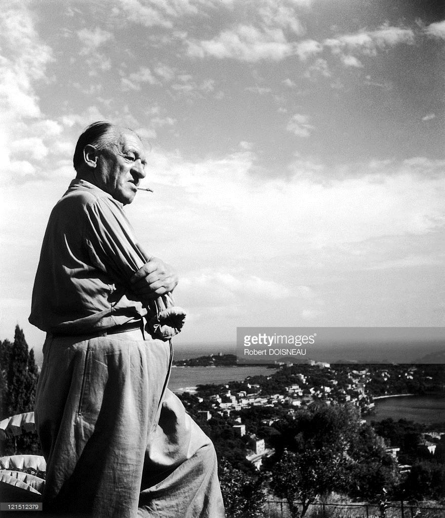1948. Блез Сандрар. Залив Вильфранш