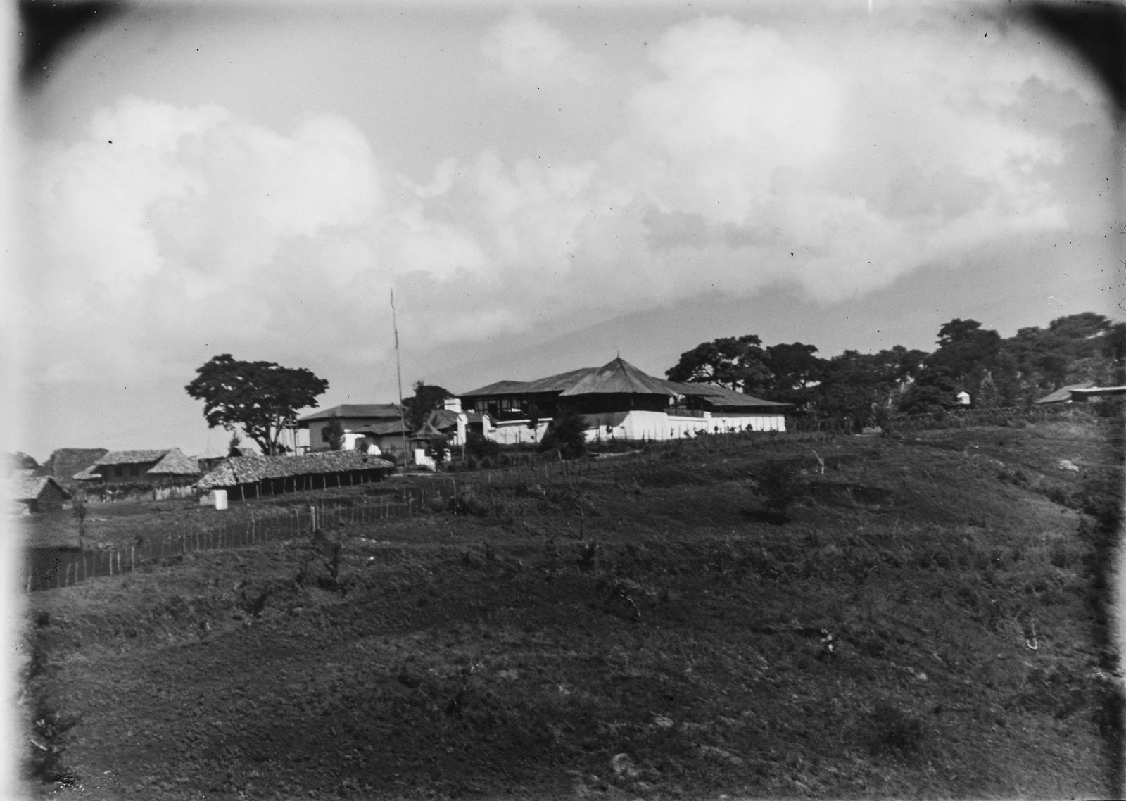 125. Станция немецкого общества Восточной Африки (ДОАГ) в Моши