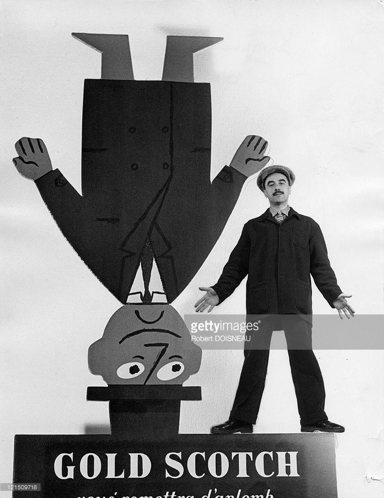1950. Савиньяк, графический дизайнер из Аверона