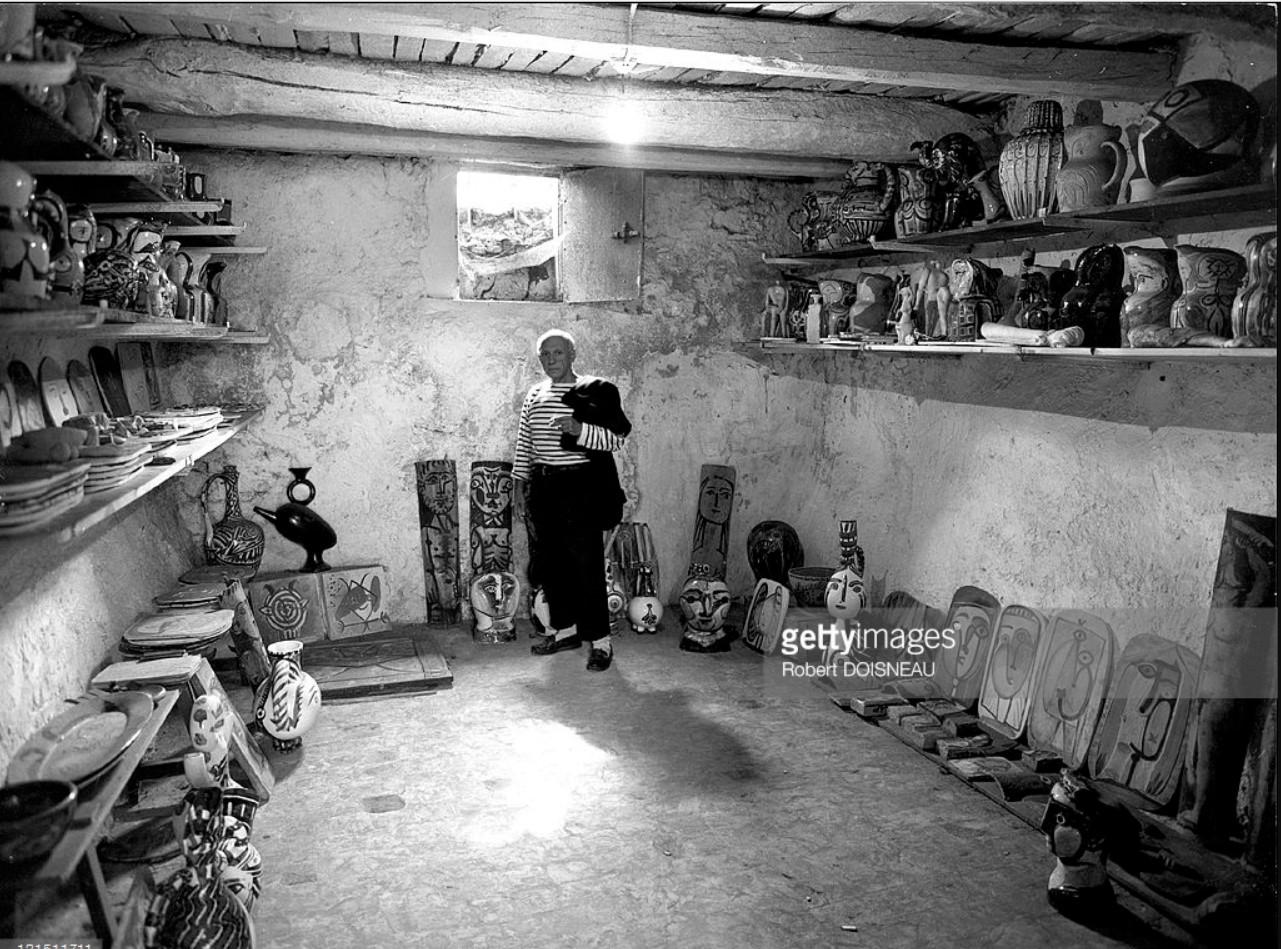 1952. Пикассо в Валлорисе