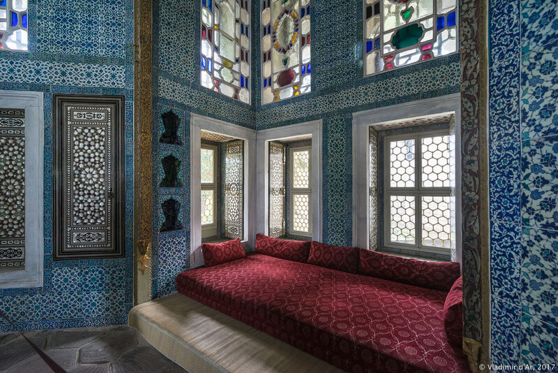 Дворец Топкапы в Стамбуле. Ереванский павильон или Летний дворец Реван.